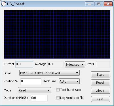 HD Speed(磁盘读取速度测试) V1.7.8.107 绿色版