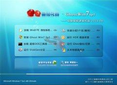 番茄花园 Ghost Win7 32位电脑城海驱极速装机版 v2015.06