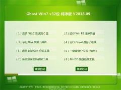 风林火山GHOST WIN7 x32 快速纯净版2018.09月(永久激活)